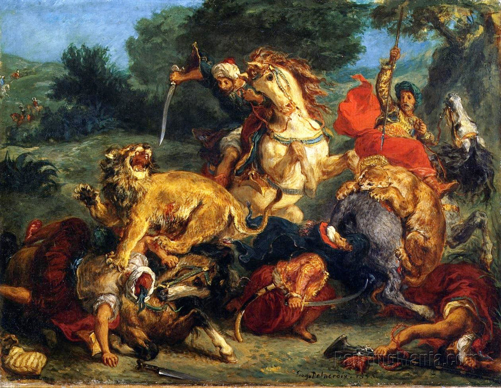 The Delacroix Palette