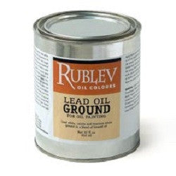 Oil Paint Medium - Lead Oil Paste Ground - 237ml
