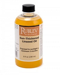 Sun-Thickened Linseed Oil - 237ml