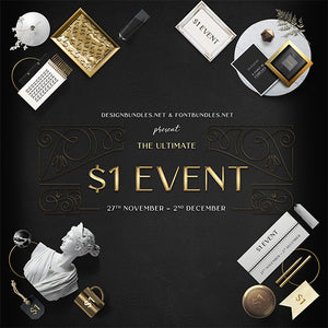 HUGE $1 Design Event