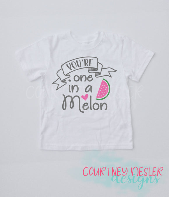 You're One in a Melon Youth Shirt