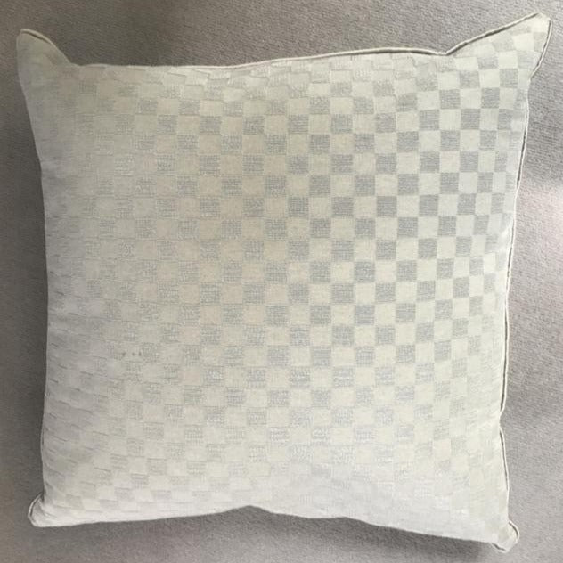 Square Silver Cushions-Accessories-Louise Bradley-LOT.co.uk