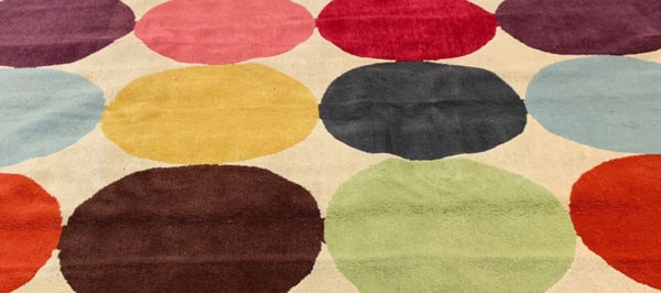 Paul Smith Spot Design Rug-Rugs & Carpets-The Rug Company-LOT.co.uk