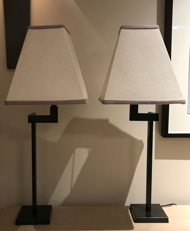 Pair Of Bespoke Table Lamps-Lighting-William Yeoward-LOT.co.uk