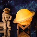 Planet Saturn 3D Nightlight