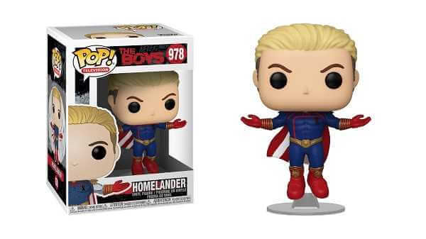 The Boys POP! TV Vinyl Figure Homelander Levitating 9 cm - 978