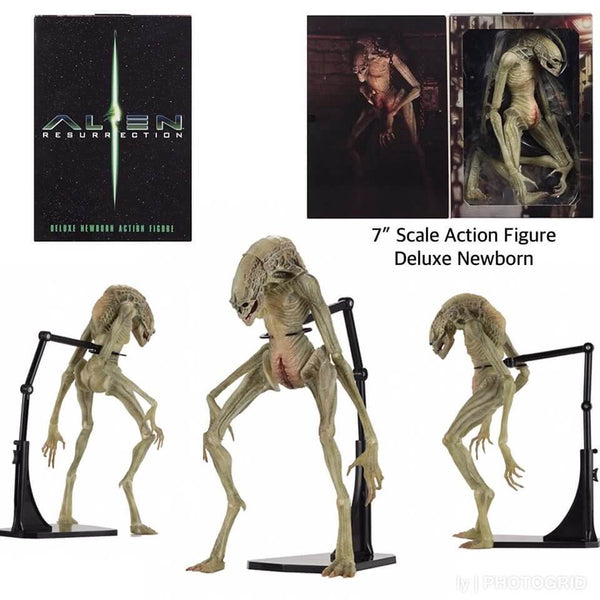 Newborn Deluxe  Action Figure Alien Resurrection  28cm NECA 51654 (3948446908513)