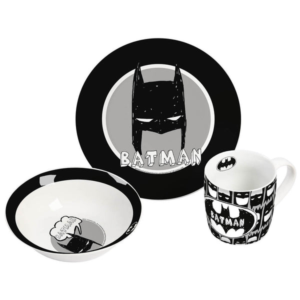 Batman Breakfast Set Caped Crusader