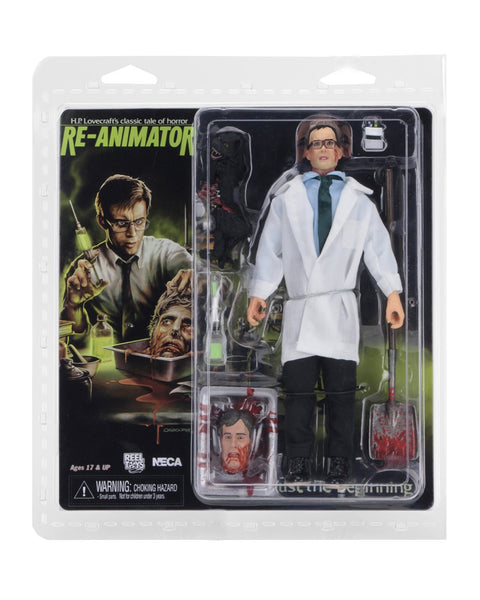 Re-Animator Retro Action Figure Herbert West 20 cm NECA (3948438913121)