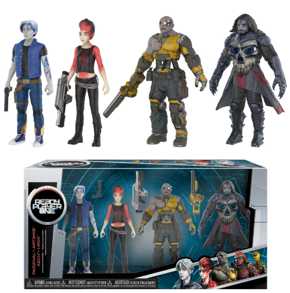 Pack 4 Personaggi Action Figures Ready Player ONE (3948346933345)