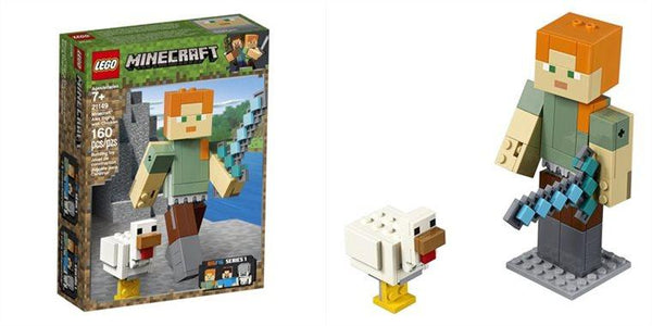 LEGO 21149 Minecraft Alex con Gallina Maxi-Figure (3948414959713)