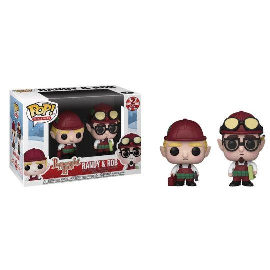 Randy e Rob Christmas Village Funko POP 2-pack 9 cm