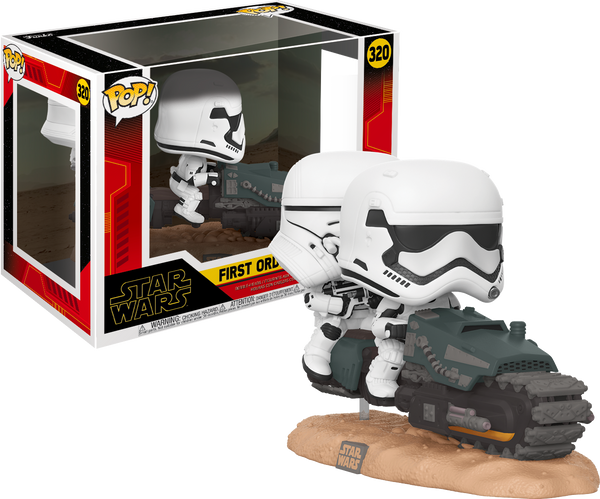 First Order Tread Speeder Star Wars Episode IX Funko POP Deluxe 320