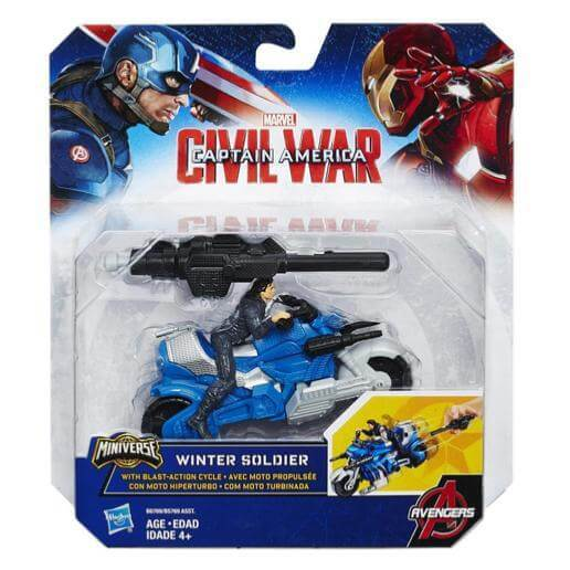 Winter Soldier con Moto Hasbro Miniverse #Scegli Personaggio_Winter Soldier con Moto (4192503857249)
