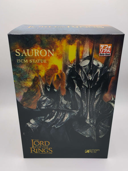 Sauron Premium Edition  Lord of the Rings Defo-Real Series Statue 15 cm