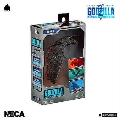 Rodan Action Figure 18cm Godzilla: King of the Monsters 2019 NECA 42889 (4312300847201)