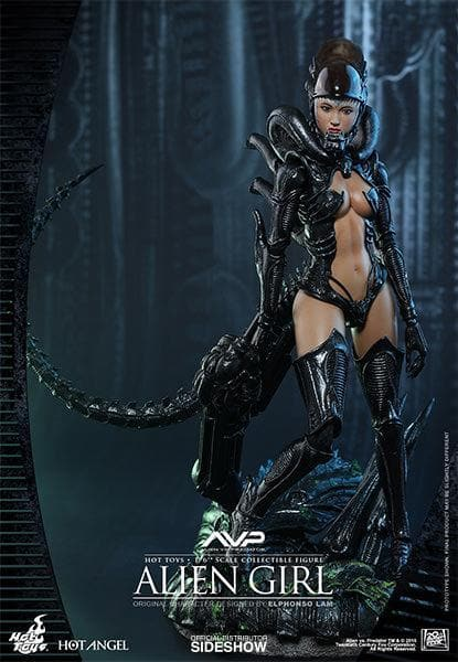 Alien Girl Action Figures Collezione 30cm Hot Angels Hot Toys (3948398477409)