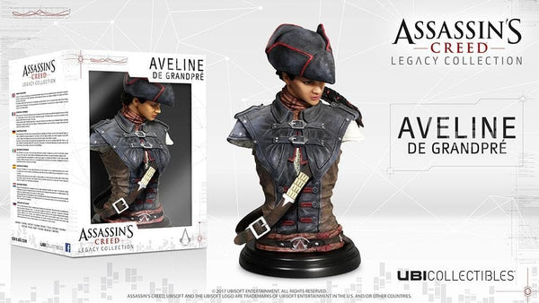 Assassin's Creed Busto Liberation Aveline Ubisoft 19cm (3948336840801)