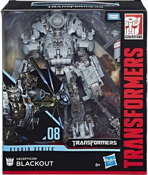 Blackout Transformers Generations Personaggio Studio Series Deluxe 25cm Hasbro (3948340641889)