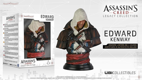 Assassin's Creed Busto Edward Kenway Ubisoft 19cm (3948336676961)