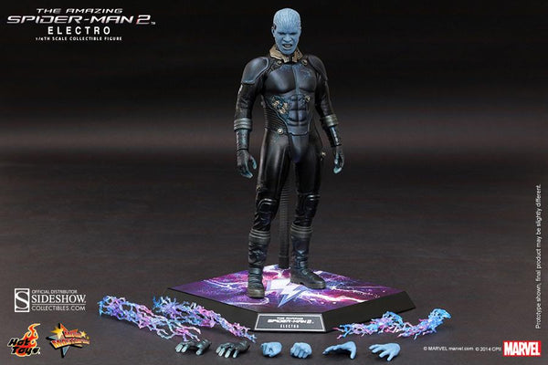 Electro Action Figures Amazing Spiderman Collezione 30cm Hot Toys (3948398510177)