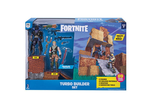 Fortnite Turbo Builder Playset Con Personaggi (3948409749601)