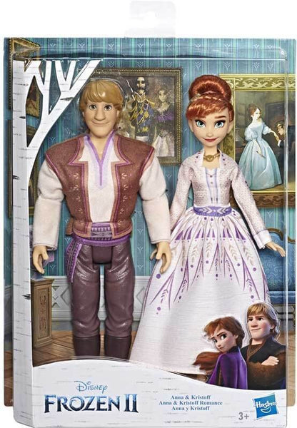 Frozen 2 Anna e Kristoff Fashion Doll 30cm Coppia Bambole 2Pack (4205989920865)