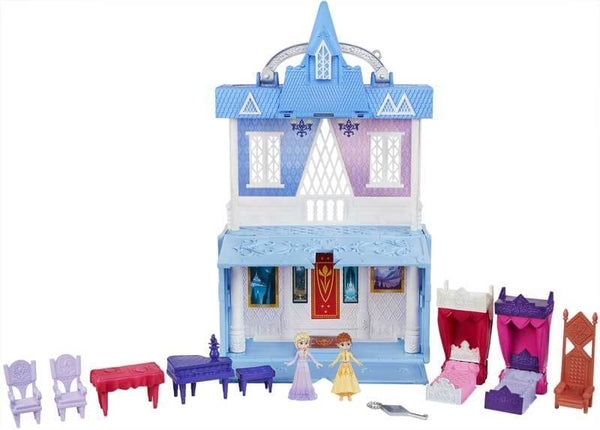 Frozen 2 Mini Castello Playset con maniglia trasportabile Scene Pop Avdentures (4206194131041)