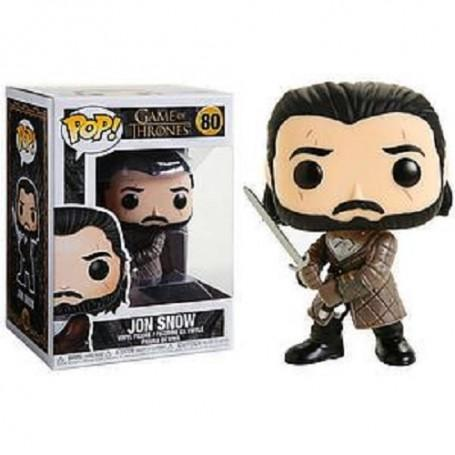 Jon Snow Game of Thrones Funko POP Trono Spade 9 cm - 80