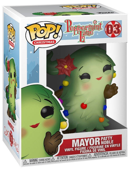 Funko Christmas Village POP Peppermint Lane Holiday Burgemeester Patty Noble 9 cm 03