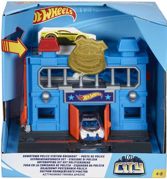 Hot Wheels Mini Playset City Con Macchinine Mattel FRH28 (3948467650657)
