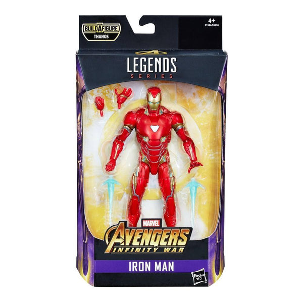 Iron Man Infinity War Marvel Legends Series Action Figures 15 cm  Personaggio Articolato Serie Thanos (3948345819233)