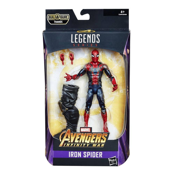 Iron Spider Marvel Legends Series Action Figures 15 cm  Personaggio Articolato Serie Thanos (3948346212449)