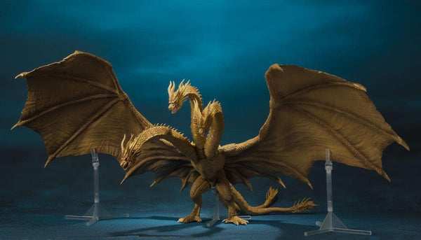 Action Figure King Ghidorah 25 cm Godzilla: King of the Monsters 2019 S.H. MonsterArts  Tamashii (3948408635489)