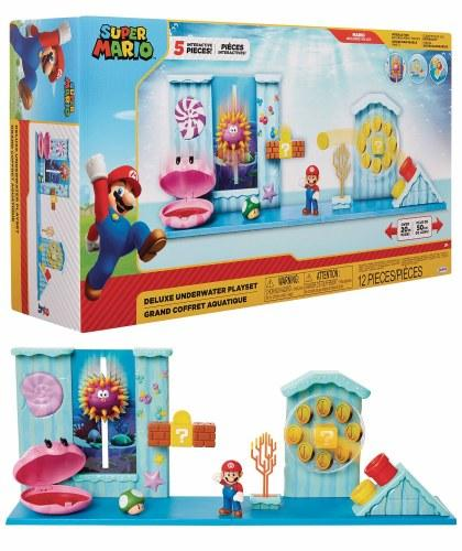 Super Mario Deluxe Playset Underwater World of Nintendo