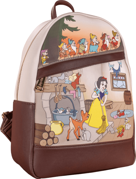 Disney by Loungefly Backpack Snow White Multi Scene