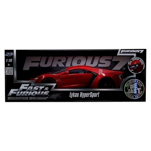 Lykan Hypersport Veicolo in Scala 1/18 Fast and Furious 7 (3948338118753)