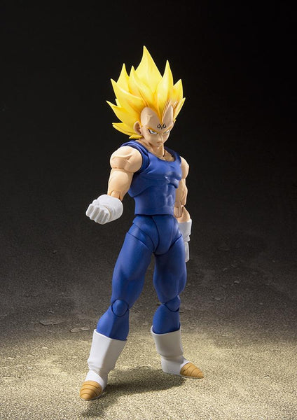 Dragon Ball Z Majin Vegeta Statuetta Action Figures Articolata Bandai 15cm (3948329992289)