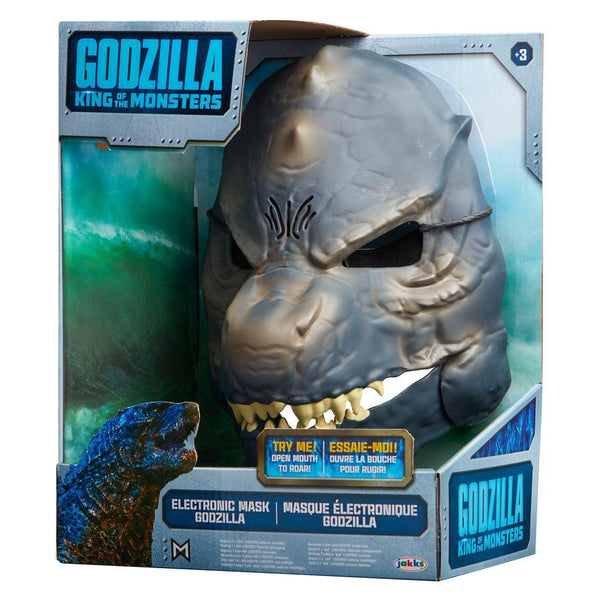 Maschera Elettronica Godzilla King of the Monsters il Re Dei Mostri Jakks Pacific (3948407947361)