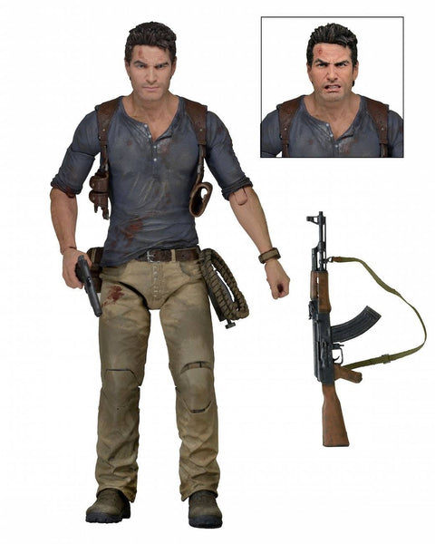 Uncharted Action Figures Personaggio Nathan Drake 18cm Neca (3948323569761)