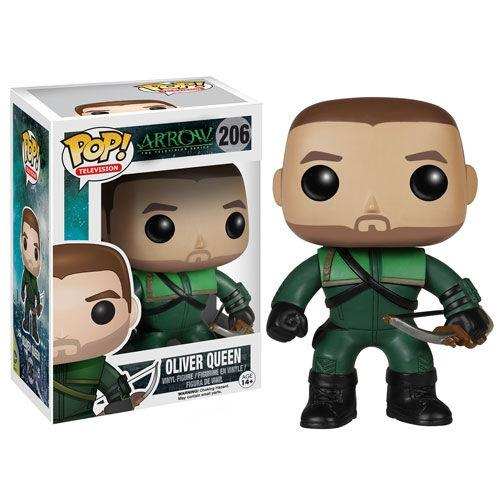 Oliver Queen Green Arrow Funko Pop 206 (3948324552801)