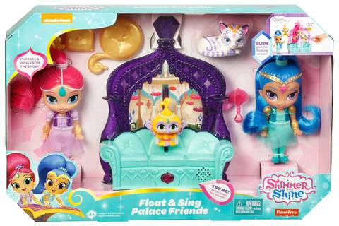 SHIMMER AND SHINE PALAZZO FLUTTUANTE PLAYSET MATTEL FFN40 (3948256100449)