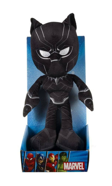 Black Panther Peluche 25cm Marvel Comics Avengers (3948470468705)