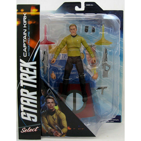 Action Figure Capitan Kirk Star Trek Diamond Select #Personaggio_Capitan Kirk (4034355822689)