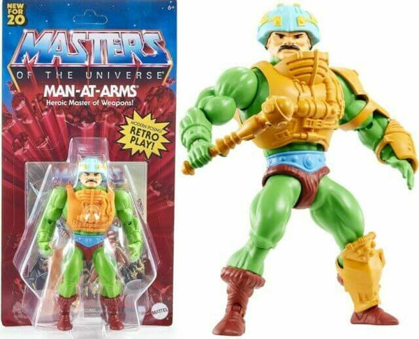 Man-At-Arms Masters of the Universe Origins Action Figure 2020  14 cm
