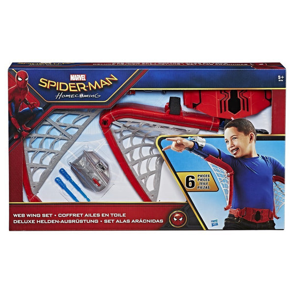 SPIDERMAN HOMECOMING ALI DELUXE LANCIA MISSILI ROLE PLAY SET TRAVESTIMENTO BAMBINO HASBRO (3948243386465)