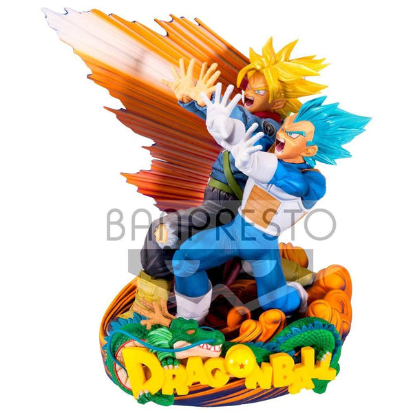 Dragon Ball Super Vegeta e Trunks 20cm Statuetta Replica Collezione Master Stars Piece Banpresto Dragonball (3948327862369)