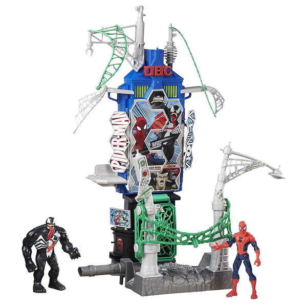 SPIDERMAN HOMECOMING PLAYSET WEB CITY LA CITTA' VULTURE ATTACCO ATTACK HASBRO CASA GIOCATTOLO (3948243779681)