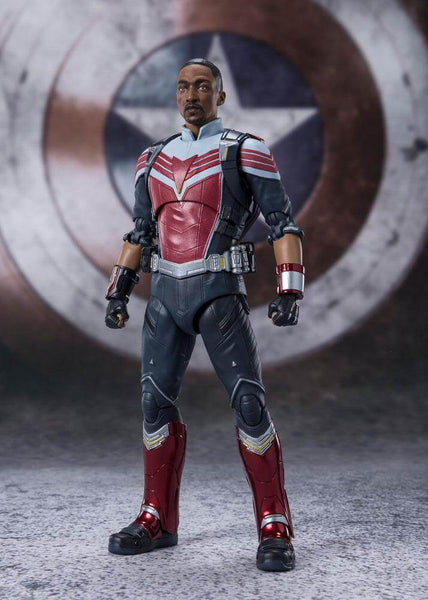 The Falcon and the Winter Soldier S.H. Figuarts Action Figure Falcon 15 cm - OCTOBER 2021