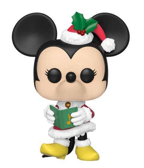 Minnie  Disney Holiday Funko POP   Babbo Natale 9cm (3948479053921)